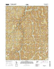 Erbacon West Virginia Current topographic map, 1:24000 scale, 7.5 X 7.5 Minute, Year 2016 from West Virginia Maps Store