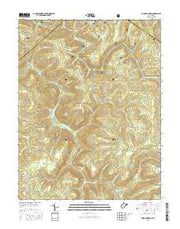 Fork Mountain West Virginia Current topographic map, 1:24000 scale, 7.5 X 7.5 Minute, Year 2016 from West Virginia Maps Store