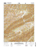 Gap Mills West Virginia Current topographic map, 1:24000 scale, 7.5 X 7.5 Minute, Year 2016 from West Virginia Map Store