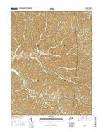 Gay West Virginia Current topographic map, 1:24000 scale, 7.5 X 7.5 Minute, Year 2016 from West Virginia Map Store