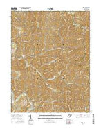 Girta West Virginia Current topographic map, 1:24000 scale, 7.5 X 7.5 Minute, Year 2016 from West Virginia Map Store