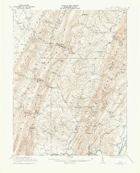 Greenland Gap West Virginia Historical topographic map, 1:62500 scale, 15 X 15 Minute, Year 1921