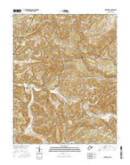 Greenville West Virginia Current topographic map, 1:24000 scale, 7.5 X 7.5 Minute, Year 2016 from West Virginia Map Store