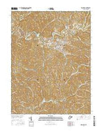 Harrisville West Virginia Current topographic map, 1:24000 scale, 7.5 X 7.5 Minute, Year 2016 from West Virginia Map Store