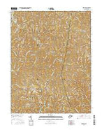 Kentuck West Virginia Current topographic map, 1:24000 scale, 7.5 X 7.5 Minute, Year 2016 from West Virginia Map Store