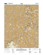 Kermit West Virginia Current topographic map, 1:24000 scale, 7.5 X 7.5 Minute, Year 2016 from West Virginia Map Store
