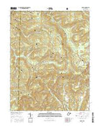 Lobelia West Virginia Current topographic map, 1:24000 scale, 7.5 X 7.5 Minute, Year 2016 from West Virginia Map Store