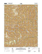 Lorado West Virginia Current topographic map, 1:24000 scale, 7.5 X 7.5 Minute, Year 2016 from West Virginia Map Store