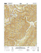 Marlinton West Virginia Current topographic map, 1:24000 scale, 7.5 X 7.5 Minute, Year 2016 from West Virginia Map Store