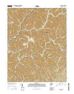 Matheny West Virginia Current topographic map, 1:24000 scale, 7.5 X 7.5 Minute, Year 2016 from West Virginia Map Store