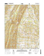 Maysville West Virginia Current topographic map, 1:24000 scale, 7.5 X 7.5 Minute, Year 2016 from West Virginia Map Store