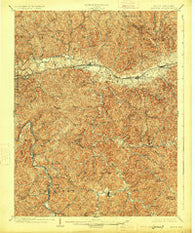 Midkiff West Virginia Historical topographic map, 1:62500 scale, 15 X 15 Minute, Year 1902