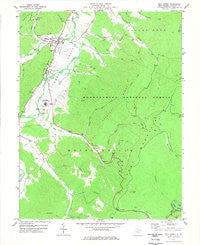 Mill Creek West Virginia Historical topographic map, 1:24000 scale, 7.5 X 7.5 Minute, Year 1977