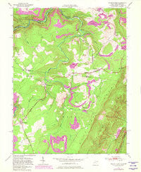 Mount Storm West Virginia Historical topographic map, 1:24000 scale, 7.5 X 7.5 Minute, Year 1949