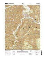 Parsons West Virginia Current topographic map, 1:24000 scale, 7.5 X 7.5 Minute, Year 2016 from West Virginia Map Store