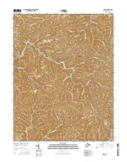 Quick West Virginia Current topographic map, 1:24000 scale, 7.5 X 7.5 Minute, Year 2016 from West Virginia Maps Store