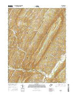 Rio West Virginia Current topographic map, 1:24000 scale, 7.5 X 7.5 Minute, Year 2016 from West Virginia Map Store