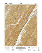 Romney West Virginia Current topographic map, 1:24000 scale, 7.5 X 7.5 Minute, Year 2016 from West Virginia Map Store