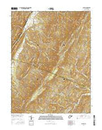 Sector West Virginia Current topographic map, 1:24000 scale, 7.5 X 7.5 Minute, Year 2016 from West Virginia Map Store