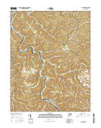 Sylvester West Virginia Current topographic map, 1:24000 scale, 7.5 X 7.5 Minute, Year 2016 from West Virginia Map Store