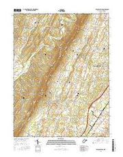 Tablers Station West Virginia Current topographic map, 1:24000 scale, 7.5 X 7.5 Minute, Year 2016 from West Virginia Maps Store