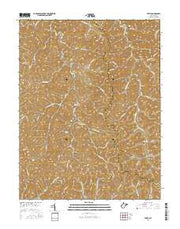 Tariff West Virginia Current topographic map, 1:24000 scale, 7.5 X 7.5 Minute, Year 2016 from West Virginia Maps Store