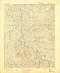 Warfield West Virginia Historical topographic map, 1:125000 scale, 30 X 30 Minute, Year 1891