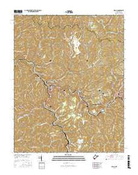 Welch West Virginia Current topographic map, 1:24000 scale, 7.5 X 7.5 Minute, Year 2016