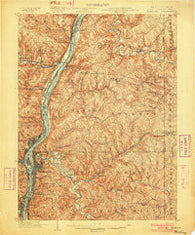 Wheeling West Virginia Historical topographic map, 1:62500 scale, 15 X 15 Minute, Year 1902