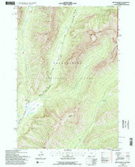 Abiathar Peak Wyoming Historical topographic map, 1:24000 scale, 7.5 X 7.5 Minute, Year 1991