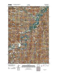Acme Wyoming Historical topographic map, 1:24000 scale, 7.5 X 7.5 Minute, Year 2011