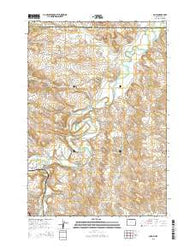 Acme Wyoming Current topographic map, 1:24000 scale, 7.5 X 7.5 Minute, Year 2015