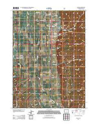 Afton Wyoming Historical topographic map, 1:24000 scale, 7.5 X 7.5 Minute, Year 2012