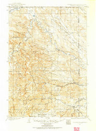 Aladdin Wyoming Historical topographic map, 1:125000 scale, 30 X 30 Minute, Year 1901