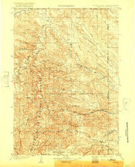 Aladdin Wyoming Historical topographic map, 1:125000 scale, 30 X 30 Minute, Year 1903