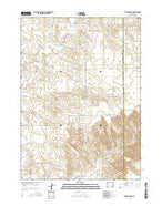 Amend Ranch Wyoming Current topographic map, 1:24000 scale, 7.5 X 7.5 Minute, Year 2015 from Wyoming Map Store