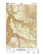 Amethyst Mountain Wyoming Current topographic map, 1:24000 scale, 7.5 X 7.5 Minute, Year 2015 from Wyoming Map Store