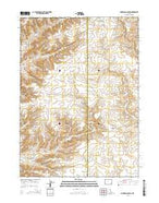 Anderson Canyon Wyoming Current topographic map, 1:24000 scale, 7.5 X 7.5 Minute, Year 2015 from Wyoming Map Store