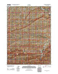 Antelope Flats Wyoming Historical topographic map, 1:24000 scale, 7.5 X 7.5 Minute, Year 2012