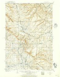 Bald Mountain Wyoming Historical topographic map, 1:125000 scale, 30 X 30 Minute, Year 1898