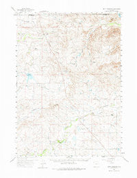 Betty Reservoir Wyoming Historical topographic map, 1:62500 scale, 15 X 15 Minute, Year 1959