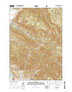 Cache Creek Wyoming Current topographic map, 1:24000 scale, 7.5 X 7.5 Minute, Year 2015 from Wyoming Map Store