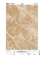 Carr Draw Wyoming Current topographic map, 1:24000 scale, 7.5 X 7.5 Minute, Year 2015 from Wyoming Map Store