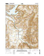 Cassa Wyoming Current topographic map, 1:24000 scale, 7.5 X 7.5 Minute, Year 2015 from Wyoming Map Store