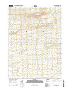 Chicken Spring Wyoming Current topographic map, 1:24000 scale, 7.5 X 7.5 Minute, Year 2015 from Wyoming Map Store