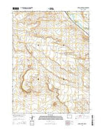 Church Butte NW Wyoming Current topographic map, 1:24000 scale, 7.5 X 7.5 Minute, Year 2015 from Wyoming Map Store