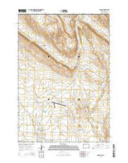 Cowley Wyoming Current topographic map, 1:24000 scale, 7.5 X 7.5 Minute, Year 2015 from Wyoming Maps Store