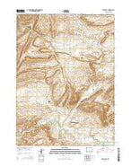 Difficulty Wyoming Current topographic map, 1:24000 scale, 7.5 X 7.5 Minute, Year 2015 from Wyoming Map Store