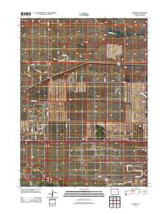 Durham Wyoming Historical topographic map, 1:24000 scale, 7.5 X 7.5 Minute, Year 2012