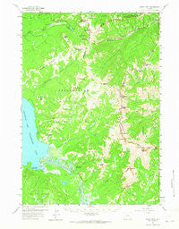 Eagle Peak Wyoming Historical topographic map, 1:62500 scale, 15 X 15 Minute, Year 1959